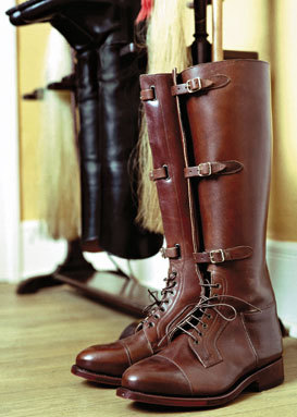 Vintage leather safari boots - my grandfather had a pair that were ...